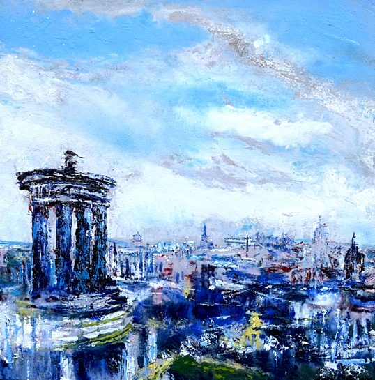 Calton Hill I by Jason Cordingley