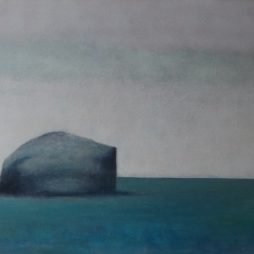 Bass Rock-Long Cloud by Claire Beattie