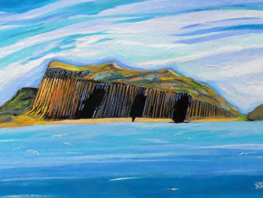 Staffa and Fingal's Cave by John Wetten Brown