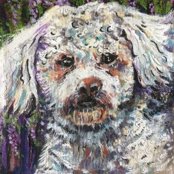 Wee Woof and Wisteria by Jane MacKenzie