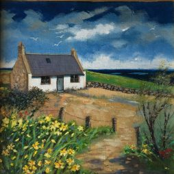 Whistleberry Cottage by Mags Donald