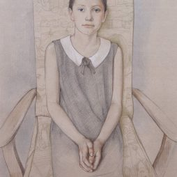 News-Portrait of a Child by Virginia Colley