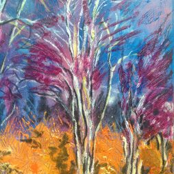 Tolerme Trees by Jane MacKenzie