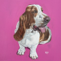 Basset Hound by Rosemary Mark