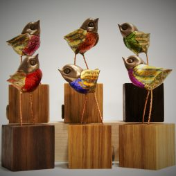 Bejeweled Birdies by Robin Fox