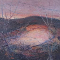 Evening Light from Spoon Wood II by Susan Mitchell