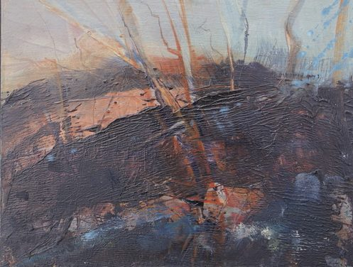 Evening Light from Spoon Wood IV by Susan Mitchell
