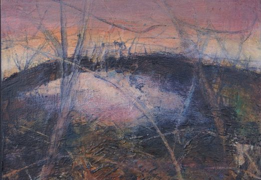 Evening LIghht from Spoon Wood III by Susan Mitchell