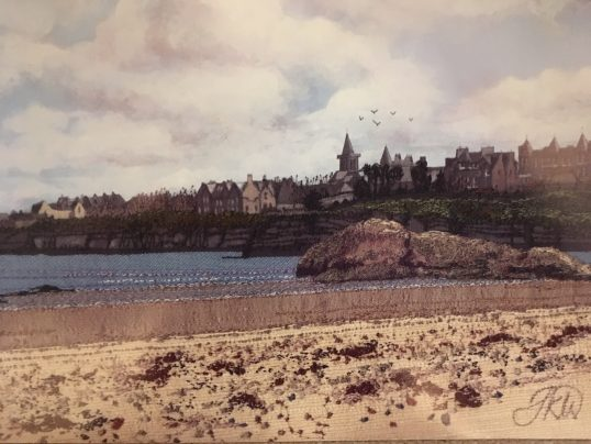 St Andrews Beach by Jacque Wakely