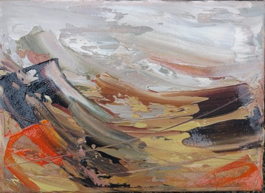 Windswept Hills II by Shirley Pinder