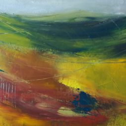 Autumn Fields III by Shirley Pinder