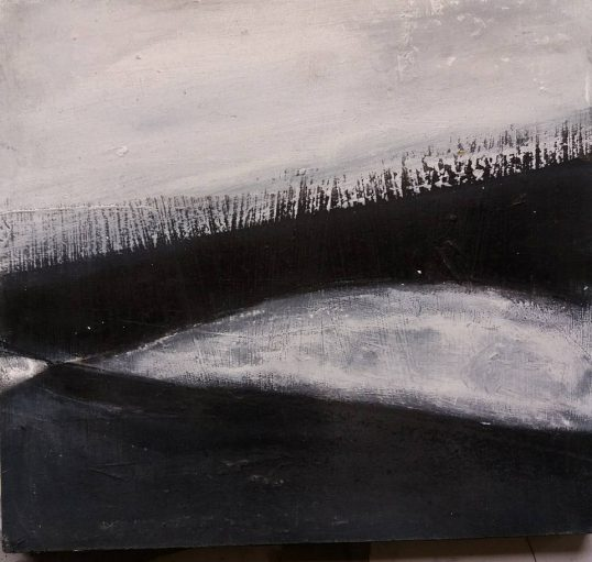 Snow Thaw ii by Shirley Pinder