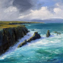 At Mangurstadh Isle of Lewis by Angela Lawrence