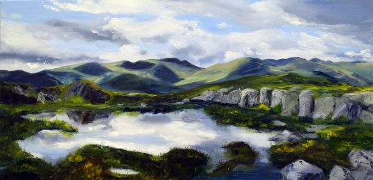 Dancing LIght Across the Fells by Angela Lawrence