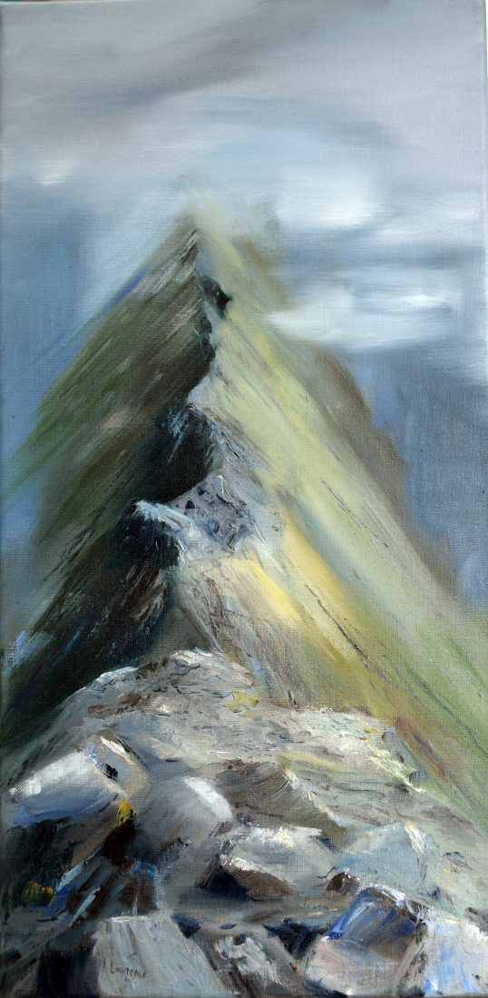 Striding Edge II by Angela Lawrence