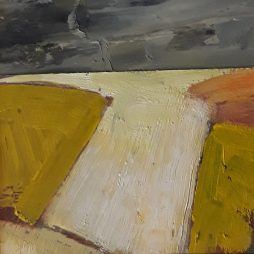 Sun Bleached Fields, East Lothian by David Holmes