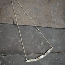 Fallen Leaf Necklace by Terri Campbell