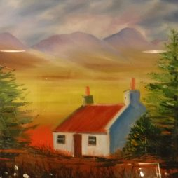 Jura Cottage by Tracy Weir