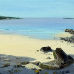 Now Peaceful Sands, at Knockbrex by Angela Lawrence