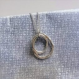 Oval and Pear Pendant by Terri Campbell
