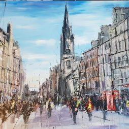 Royal Mile Colours by Gregor Reid