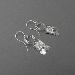 Silver Earrings by Rebecca Halstead