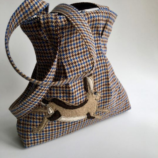 Shoulder bag by Irene Campsill