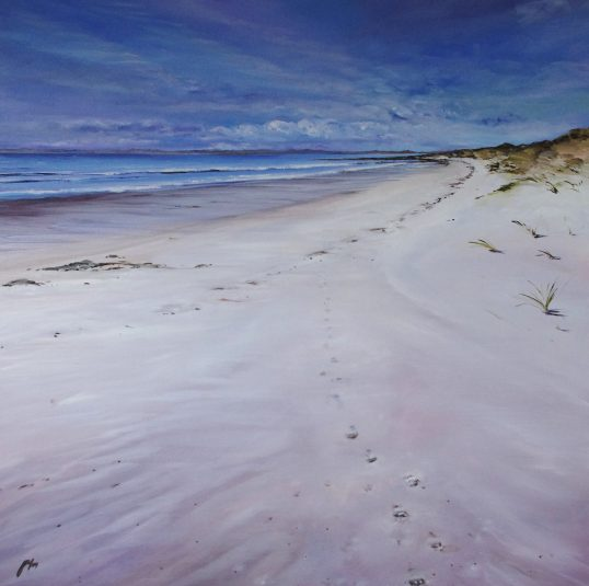Footprints, Gullane by Allison Young