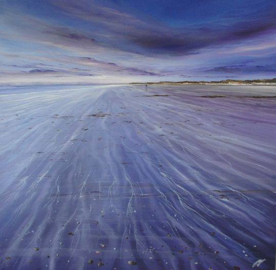 Rippled Shore, Gullane by Allison Young
