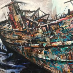Derelict Boat, Salen by Christopher Nugent