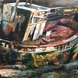 Boat Ruin b y Christopher Nugent