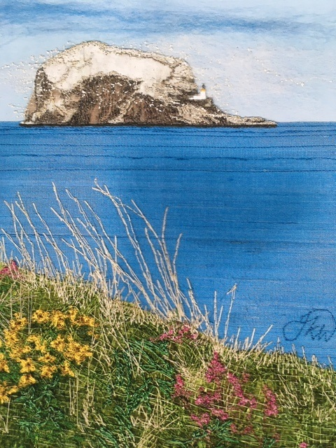 Bass Rock by Jacque Wakely