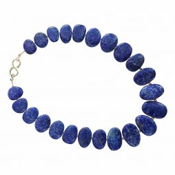 Lapis Lazuli and 9k gold necklace by Dianne King