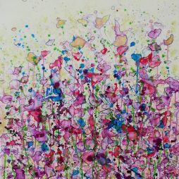 A Profusion of Pinks and Purples by Pamela McMahon