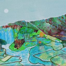 Turquoise Hills by Pamela McMahon