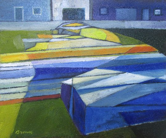 A Body of Boats by Davy Brown