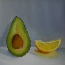 Avocado and lemon by Ruth Corbett