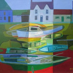 Boats Resting by Davy Brown