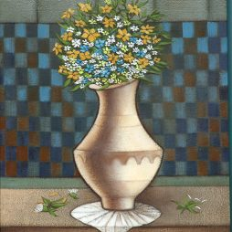 Flowers and Vase V by Nicholas King