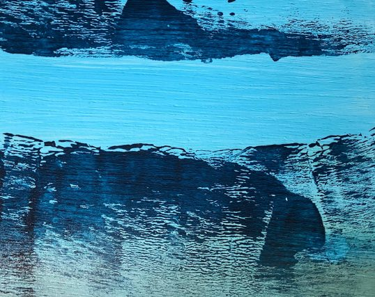 Hebridean Seascape by Tina Boswell
