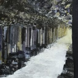 Fingals Cave by Sandra Moffat