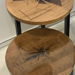 Reflections Side Tables by Urban Metalworks