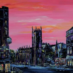 West End Pink by Colm O'Brien
