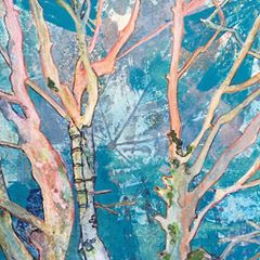 Birch Trees by Jenny Haslam