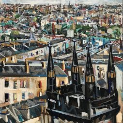Leith from Calton Hill by Christopher Nugent