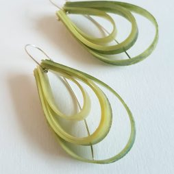 layer earrings by Anna Roebuck