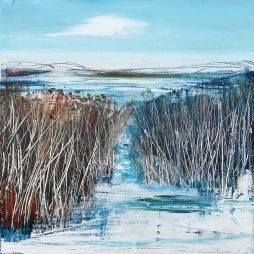 Winter Grasses by Anne Butler