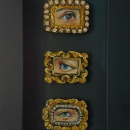 Three Lovers Eyes by Gill Walton