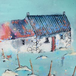 Grey Cottage by Helen Acklam