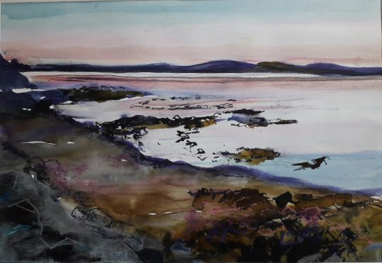 Late Evening, Still Waters, by Penny Lyall